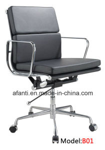 Office Furniture Modern Eames Leather Visitor Meeting Chair (RFT-E01) pictures & photos