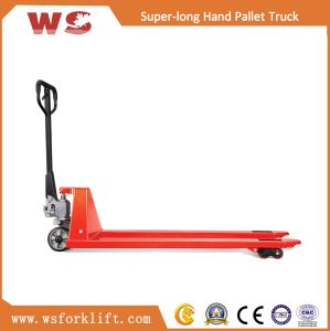 2.0-3.0ton Super Long Hydraulic Hand Pallet Truck pictures & photos