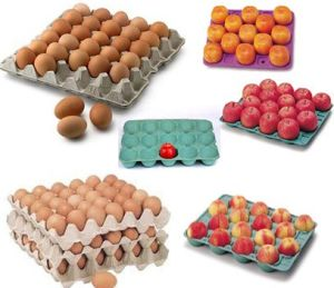 Semi Automatic Egg Tray Making Machine (ETS1200A) pictures & photos