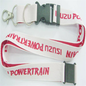Hot Sale Promotion Woven Lanyard for School pictures & photos