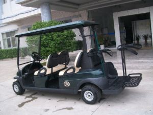 Excar Factory 4 Seater Electric Golf Buggy Car with Ce pictures & photos