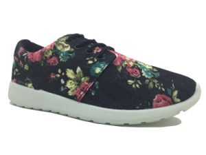 Comfort PVC Injection Running Shoes for Ladies (J2276-L) pictures & photos
