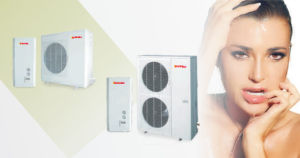 Multifunctional Room Heating and Cooling and Hot Water Split Type Heat Pump