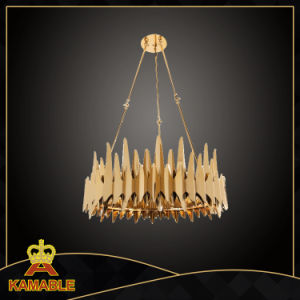 Good Quality Modern Copper Stainless Steel Pendant Lamp (KA8266) pictures & photos