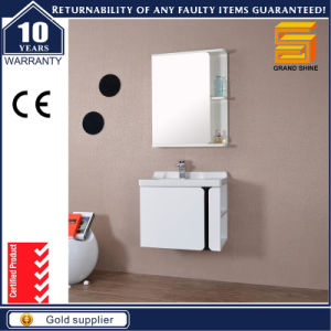 Sanitary Ware European Style MDF Bathroom Cabinet with Legs pictures & photos