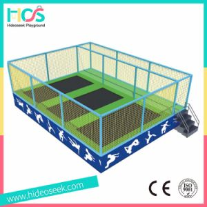 One Set Square Indoor Trampoline Bed for Children pictures & photos