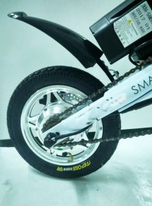 One Second Electric Folding Smart Pocket E Bike with Lithium Battery pictures & photos