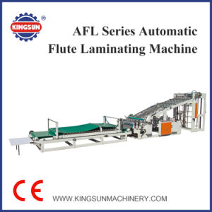 Afl-1300 Model Automatic High Speed Flute Laminating Machine pictures & photos