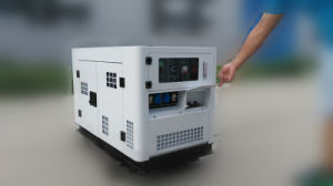 10kVA 3phase Silent Electric Diesel Generator Powered by Changchai EV80 (SDG15000SE) pictures & photos