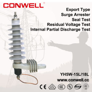 Export Type Polymer Metal Oxide Surge Arrester pictures & photos