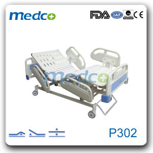 X-ray Five Functions Electric Bed Weight Scale, Hospital Furniture Electric Adjustable Bed pictures & photos