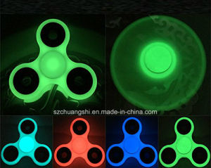 Fidget Spinner, Hand Spinner Bearing with Luminous Fluorescent Light Glow in The Dark, Ultra Durable High Speed for Add, Adhd Anxiety Autism Boredom Stress pictures & photos