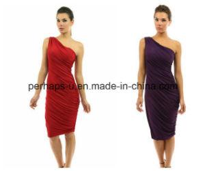 Wholesale High Quality Ladies Clothes Coktail Dress Evening Dress pictures & photos