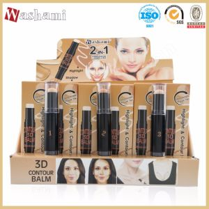 Washami Waterproof Makeup Concealer with Highlight Stick 2in1 pictures & photos