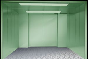 Steel Painted Capacity 3000kg Speed 0.5m/S Freight Elevator pictures & photos