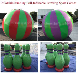 Hot Selling Inflatable Promotion Running Ball&Bowling Sport Game pictures & photos