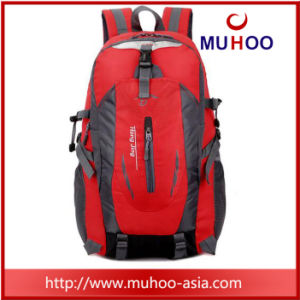 Nylon Red Waterproof Travel Laptop Duffle Sports Bag Backpack for Outdoor pictures & photos