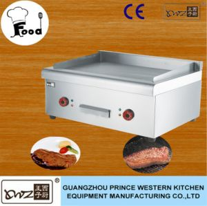 Stainless Steel Commercial Induction Griddle Table Top Electric Griddle for Restaurant pictures & photos