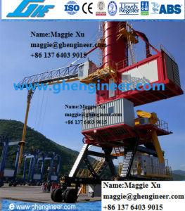 Gypsum Bulk Cargo Vecuum pneumatic Ship Unloading Port Equipment Unloader pictures & photos