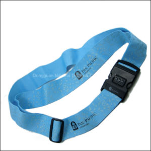 Wholesale Good Price Custom Logo and Color Polyester/Nylon/PP Luggage Strap/Belt pictures & photos