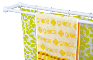 Duo Shower Curtain Towel Rod (3) pictures & photos