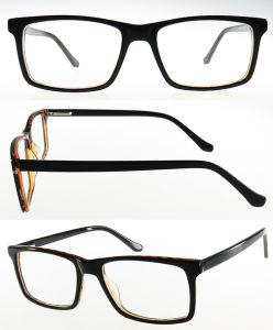 Rectangle High Quality Acetate Stock Eyewear Optical Frame pictures & photos
