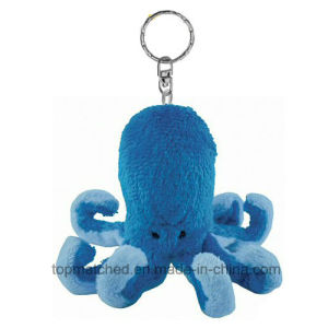 Cute Top Quality Plush Octopus Keychain Toy for Promotion pictures & photos