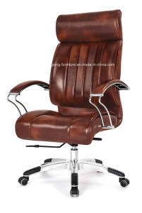 $66 Top Cow Leather Executive Boss Office Chair (HX-H010) pictures & photos