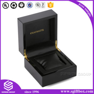 High-End Handmade Black Jewelry Box Paclaging for Women pictures & photos