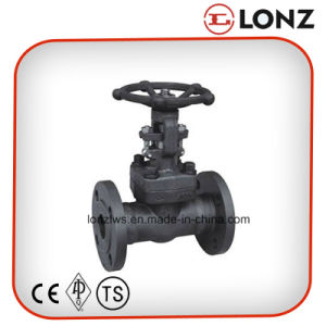 ANSI A105 Flanged Forged Steel Gate Valve pictures & photos