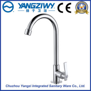 Chrome Plated Waterfall Kitchen Faucet (YZ5204)