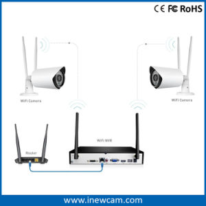 Outdoor 1080P CMOS RoHS Wireless Security IP Camera pictures & photos