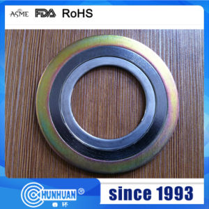 PTFE Metal Spiral Wound Gasket pictures & photos