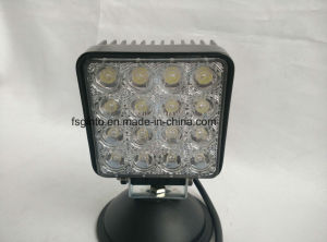 E-MARK 48W 4inch Epistar LED Work Light for Trailer (GT1015-48W) pictures & photos