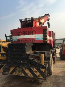 Used Kobelco 25tons Rough Terrain Crane for Sale pictures & photos