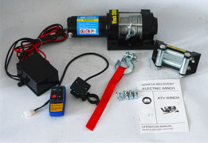 ATV DC 12V/24V Electric Winch off-Road Winch (3500lb-2) pictures & photos