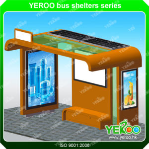 Outdoor Nice Appreance Firm Steel Customized Steel Bus Shelter Design pictures & photos