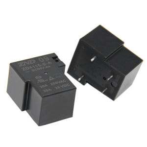 Zd4115 (T90) Power Relay 30A 4pin Silver Contact 9V 30A for Industrial Use pictures & photos