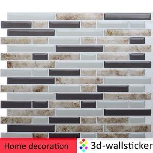 3D Wallsticker Peel and Stick Self-Adhesive Backsplash Tile for RV Bathroom and Kitchen DIY Renovation Project