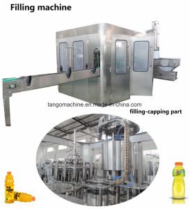 Complete Auto in 1 Mango Juice Beverage Filling Bottling Packing Machine pictures & photos