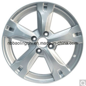 16*J6.5 Alloy Wheel with PCD 4X100 pictures & photos