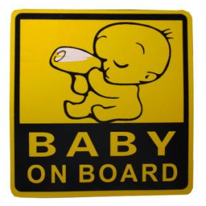 Shipping Reflective Stickers Waterproof Baby on Board Reflective Letter Car Stickers pictures & photos