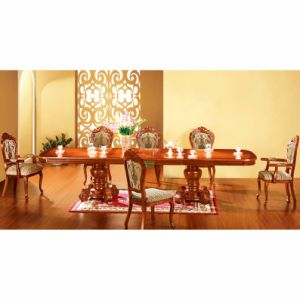 Extendable Dining Table with Dining Chair for Dining Room Furniture (868) pictures & photos