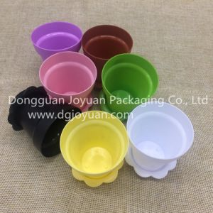 170ml Popular Plastic Flowerpot Cake Cup pictures & photos