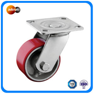 Swivel Plate Caster with Roller Bearing pictures & photos