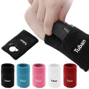 Custom High Quality Cotton Sports Wristband Sweatband pictures & photos