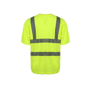 Wholesale Reflective Fluorscent Safety T-Shirt pictures & photos