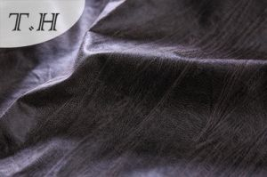 Black Suede Sofa Fabric From Manufacturer pictures & photos