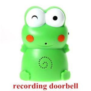 Wireless Welcome Doorbell Motion Detector Alarm System Infrared Sensor Digital Voice Recorder Doorbell Alarm pictures & photos