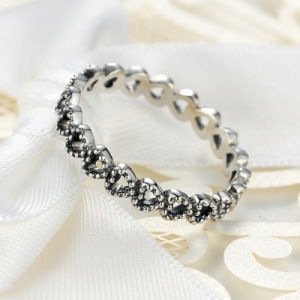 Women White Gold Rings Jewelry Sterns Wedding Rings pictures & photos